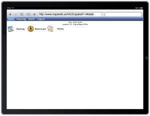 NAV mobile service ipad