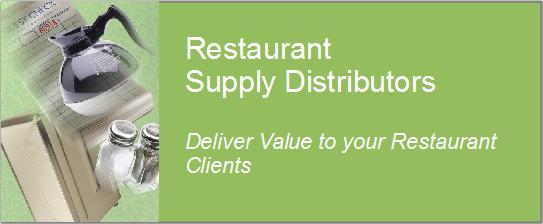 restaurant supply distributor